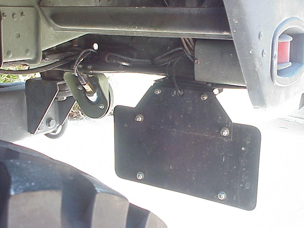 Rubber License Plate Holder Nemiri