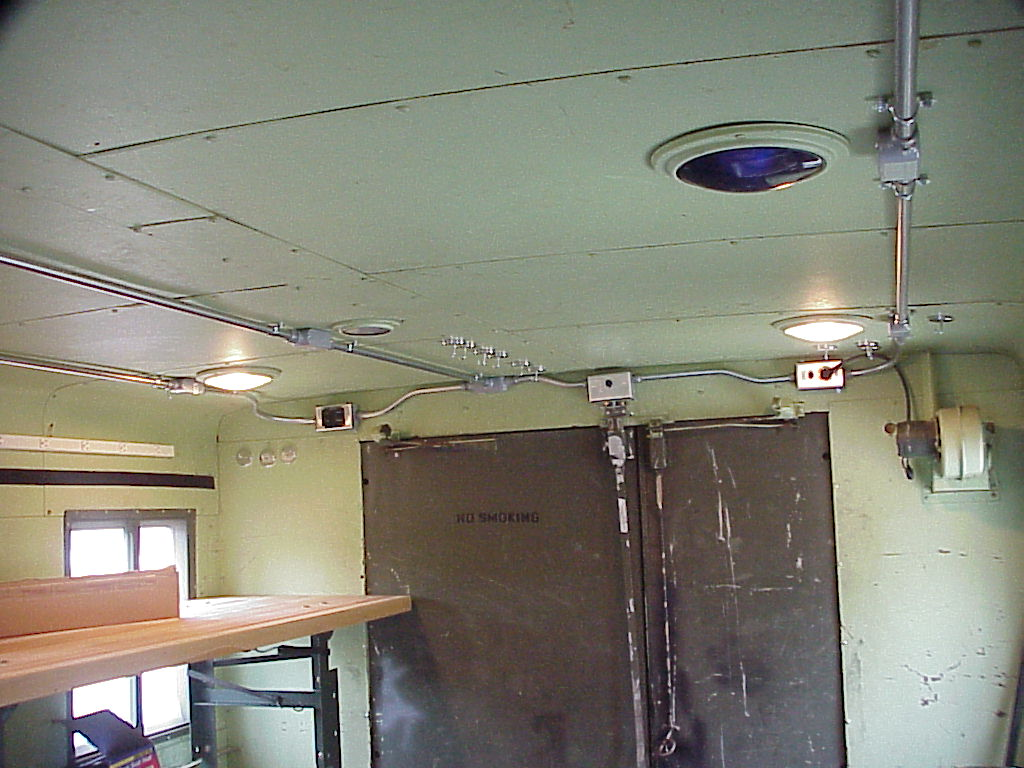 I Didnt Like The Way Original AC Wiring Was Done So Removed Harness And Re Wired Everything With Surface Mounted Conduit