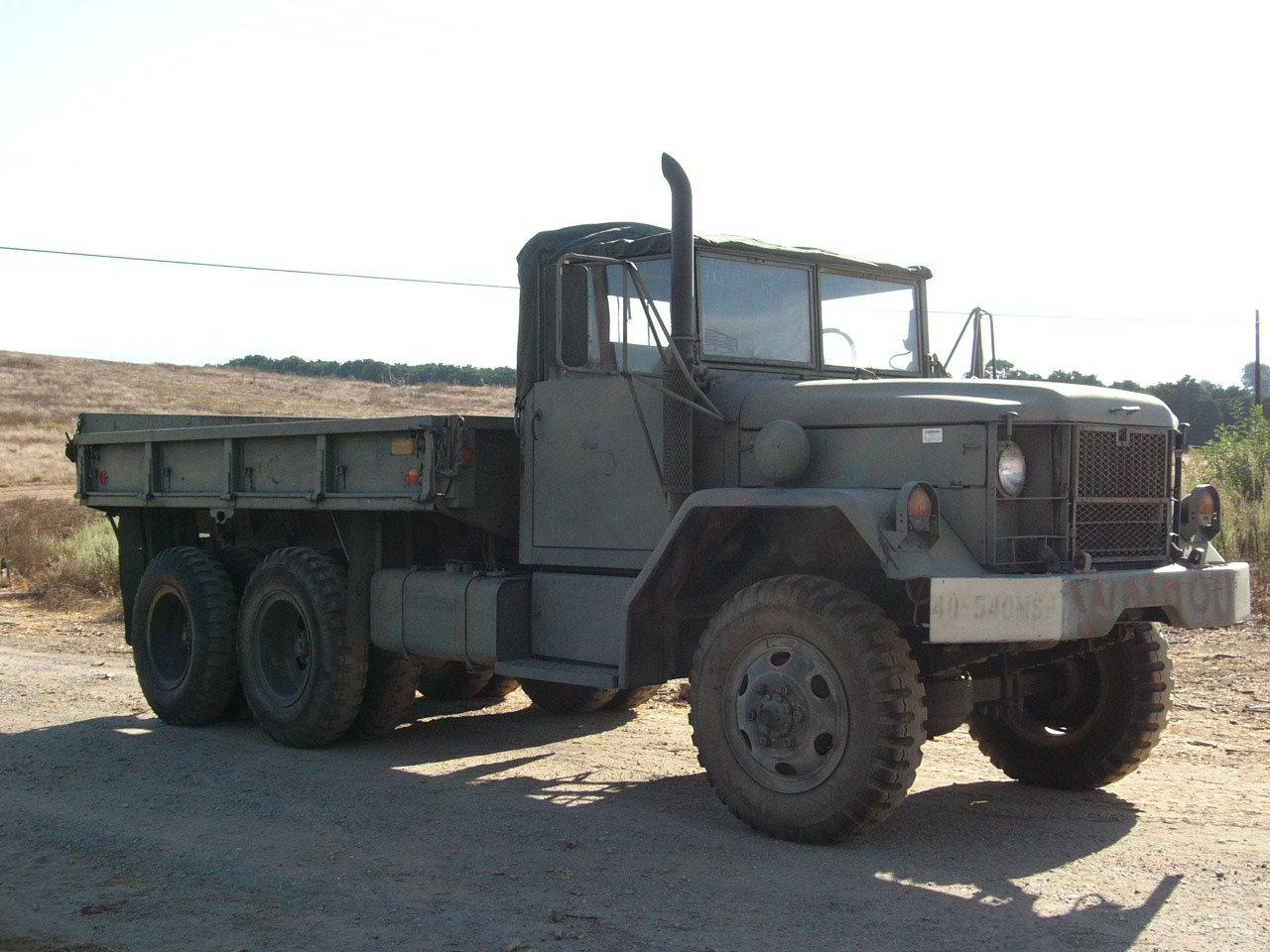 M35A2C 2 5-Ton 6×6 Cargo Truck – Mark's Tech Journal