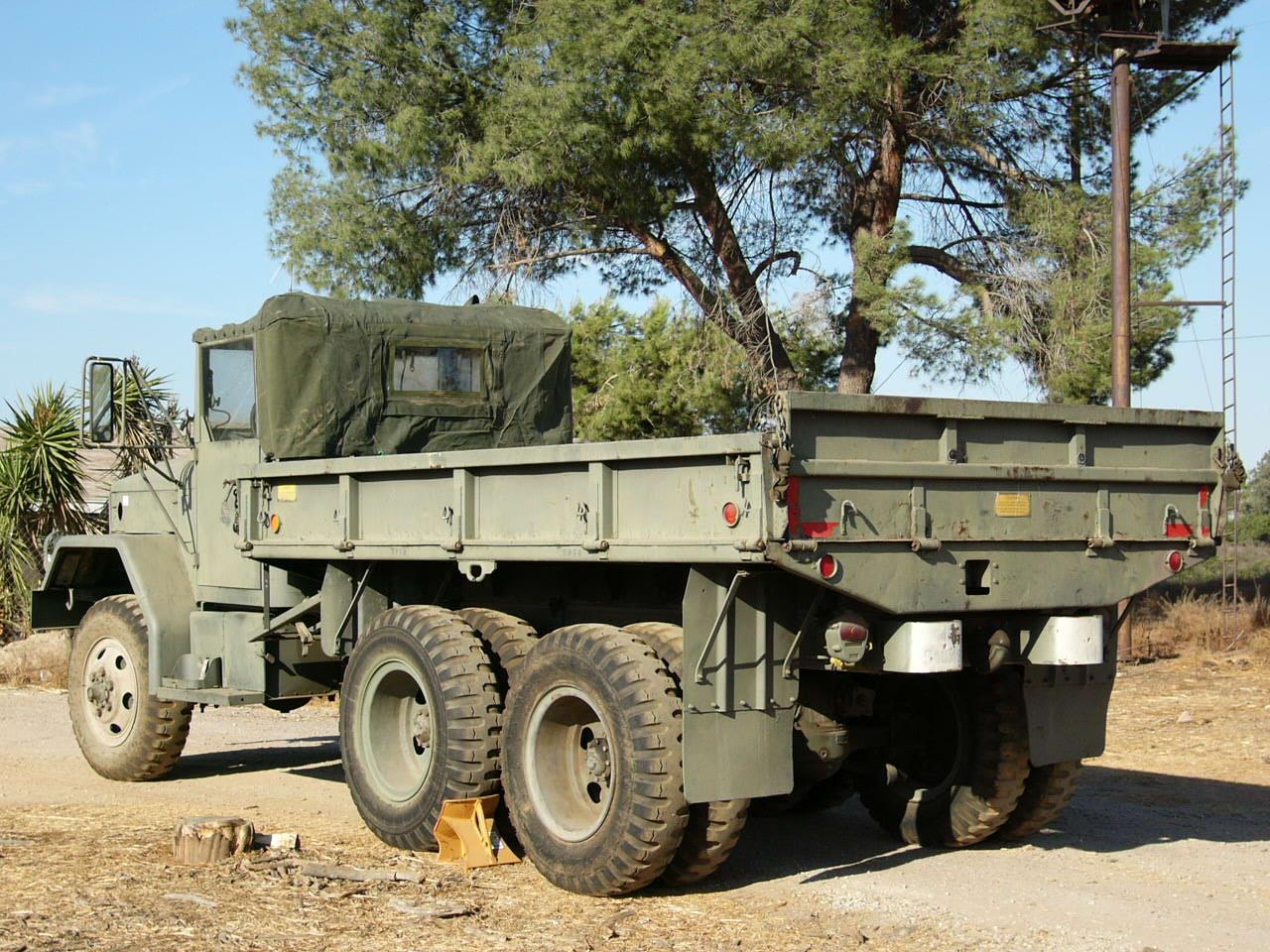 M35a2c 25 Ton 66 Cargo Truck Marks Tech Journal