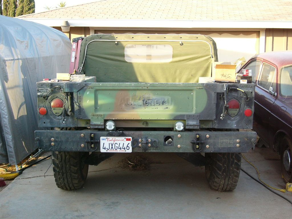 HMMWV &quot;Airlift&quot; Bumper