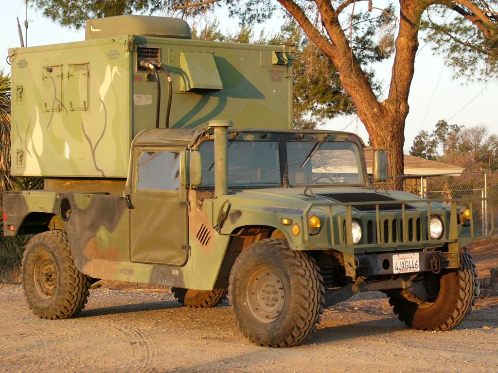 Hummer Models List >> HMMWV Shelter Carrier – Mark's Tech Journal