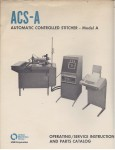 ACS-A Manual Cover
