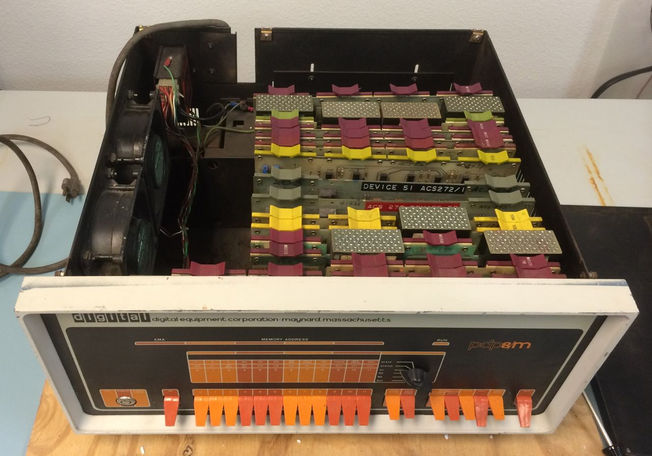 PDP-8/M, Boards