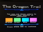 Oregon Trail Color Adjustment