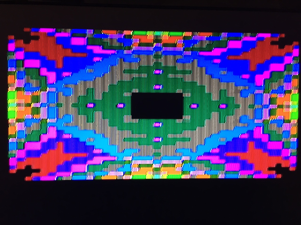 Color Demo from DOS 3.3 Disk: Kaleidoscope
