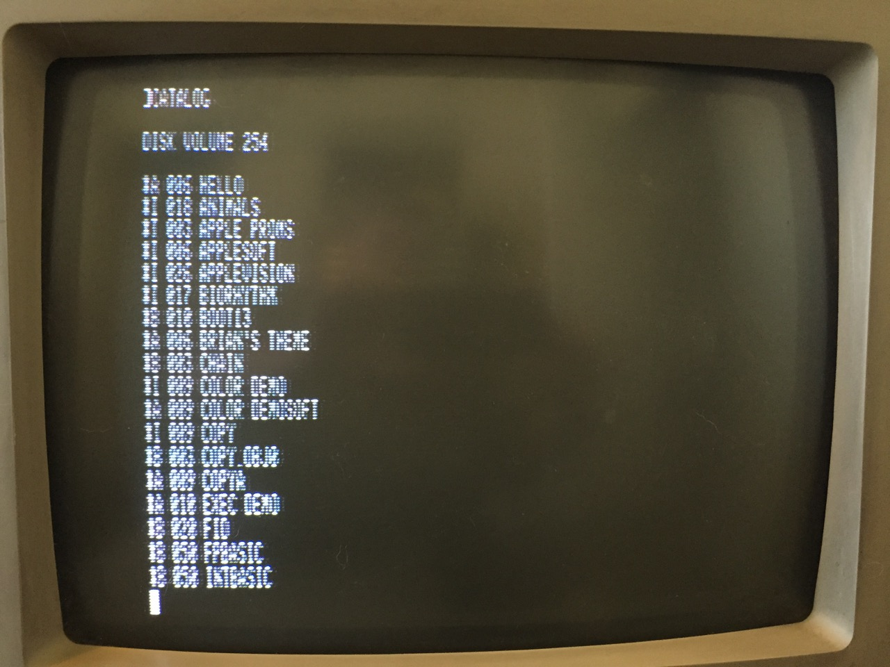 80 Column Text on the Commodore 1080