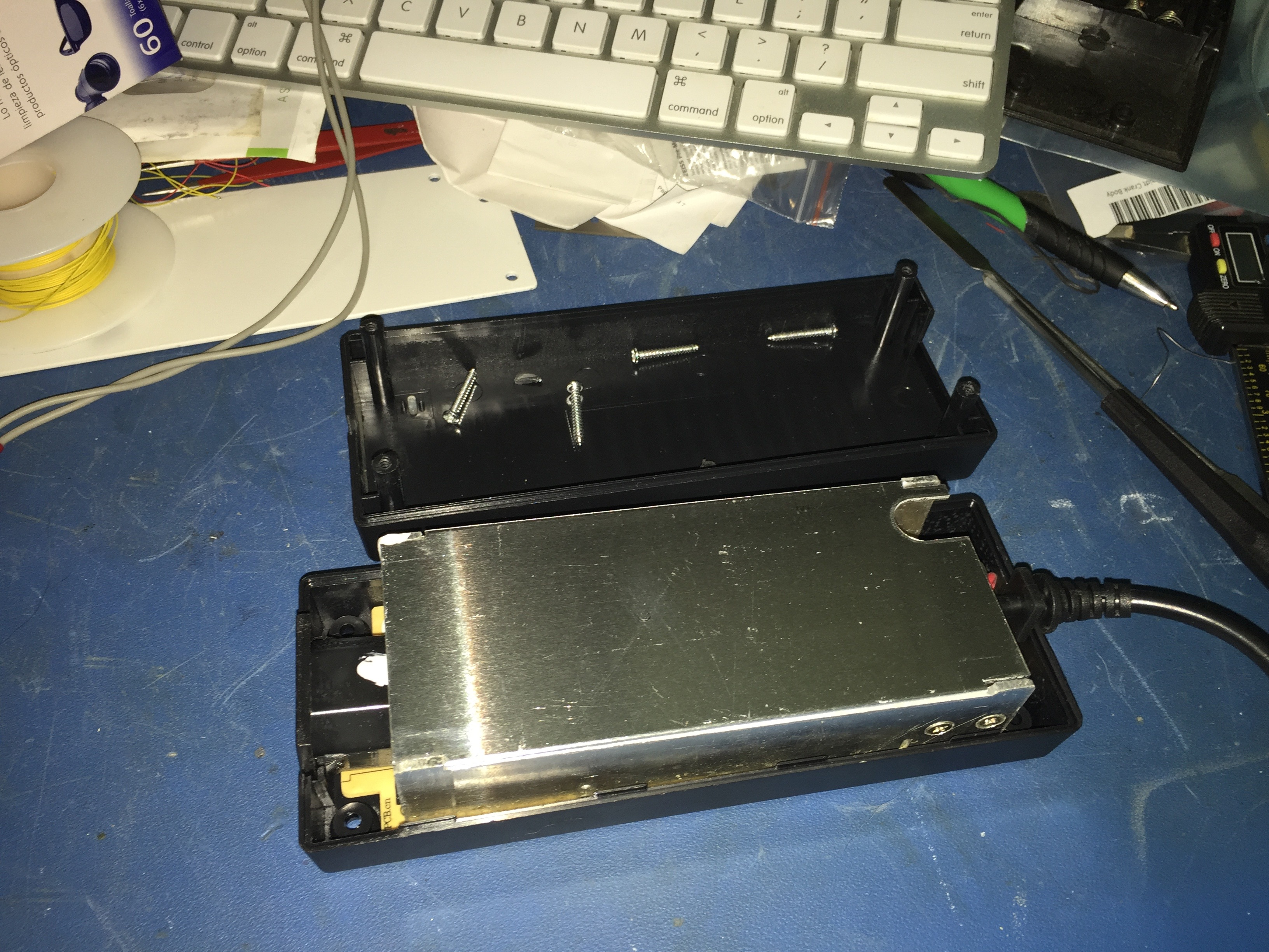 Power Supply with Lid Off