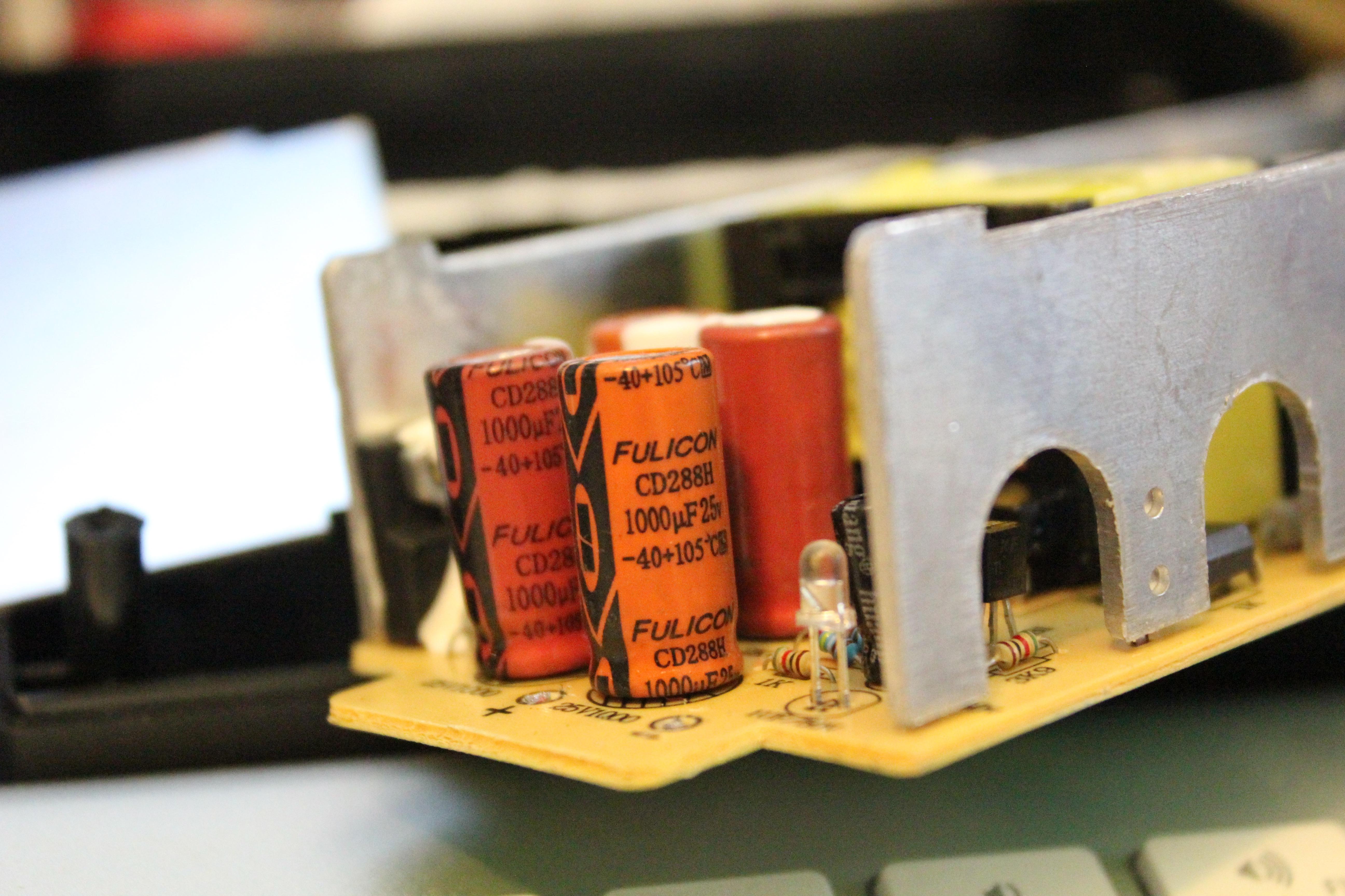 Genuine Fulicon Capacitors!