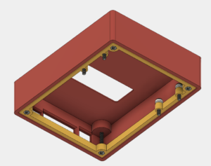 Bottom of Case with PCB Removed