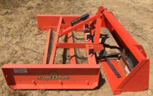 Land Plane and Front Bucket