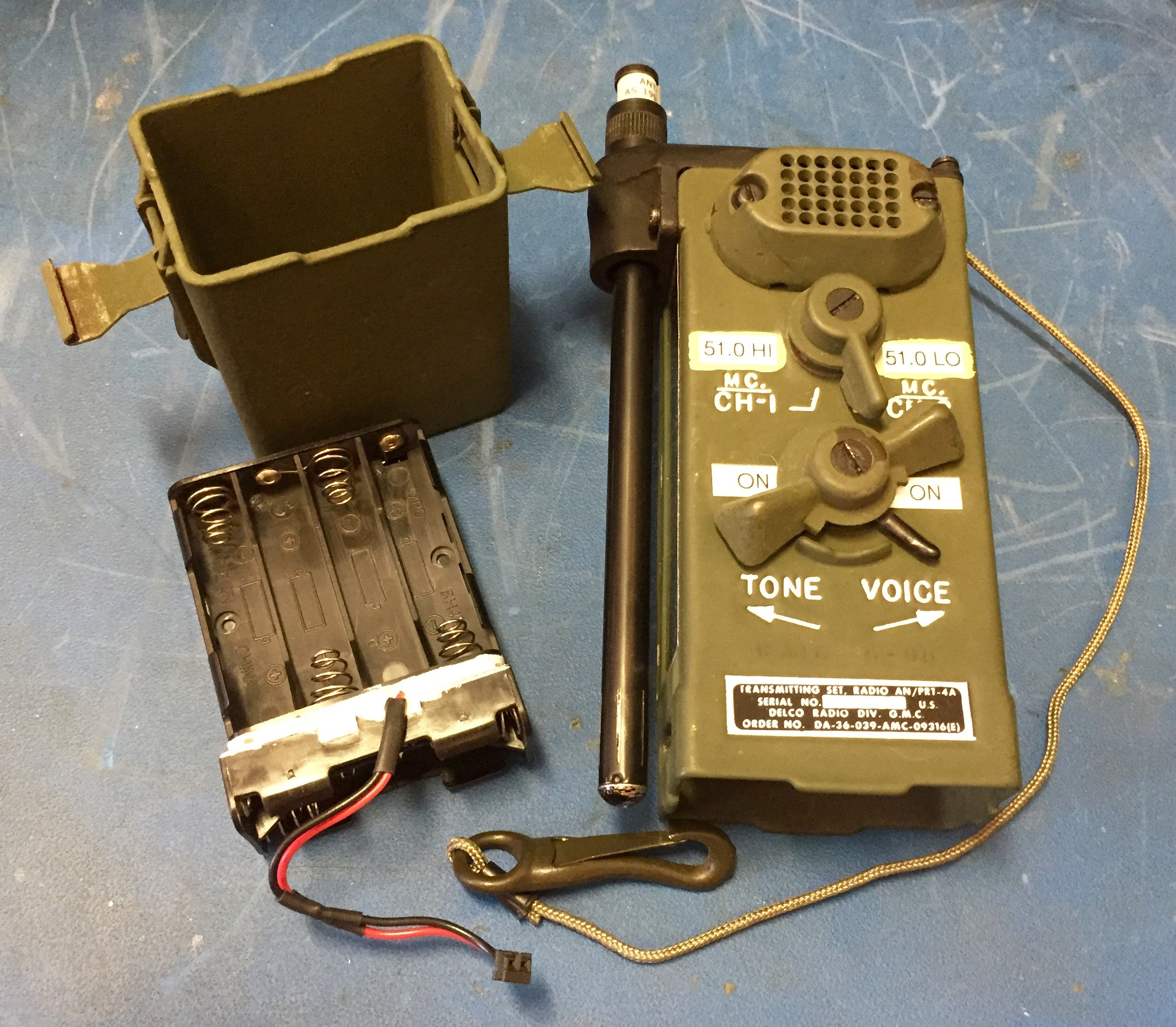 Transmitter and Battery Pack