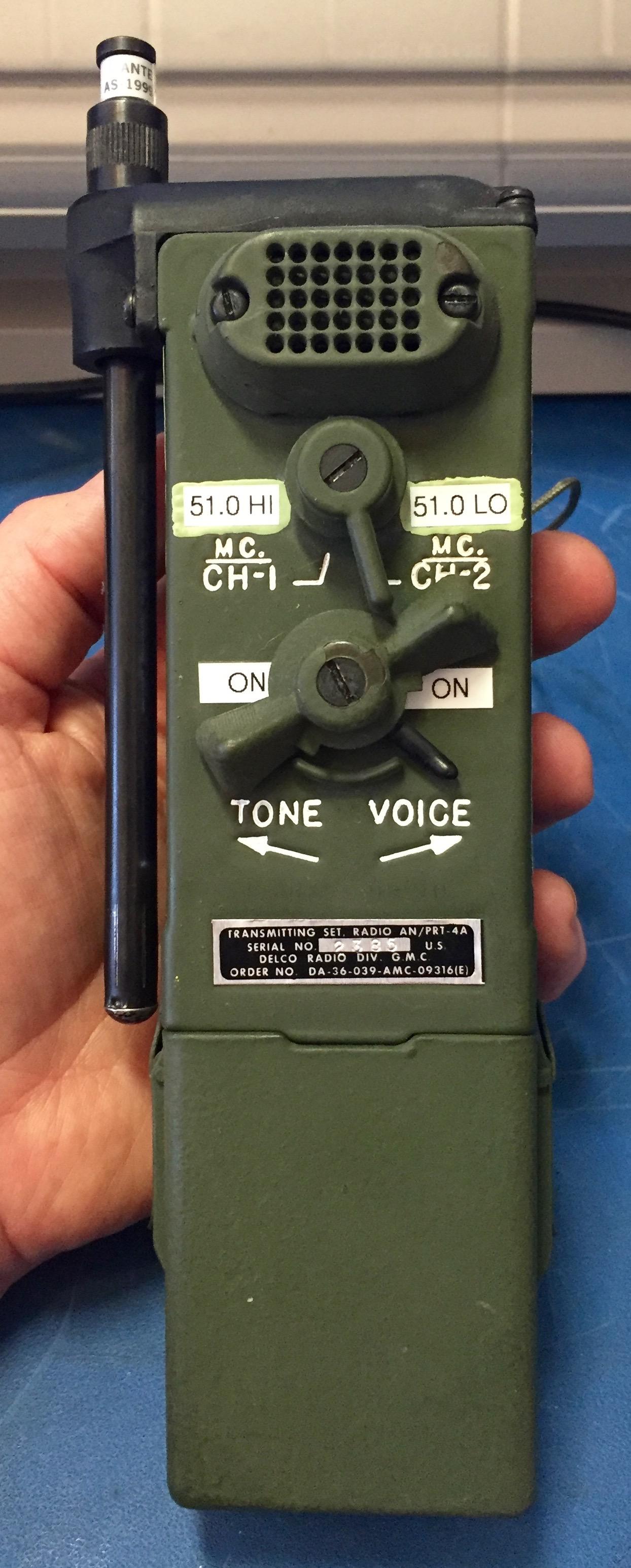 PRT-4A Fox Hunt Transmitter