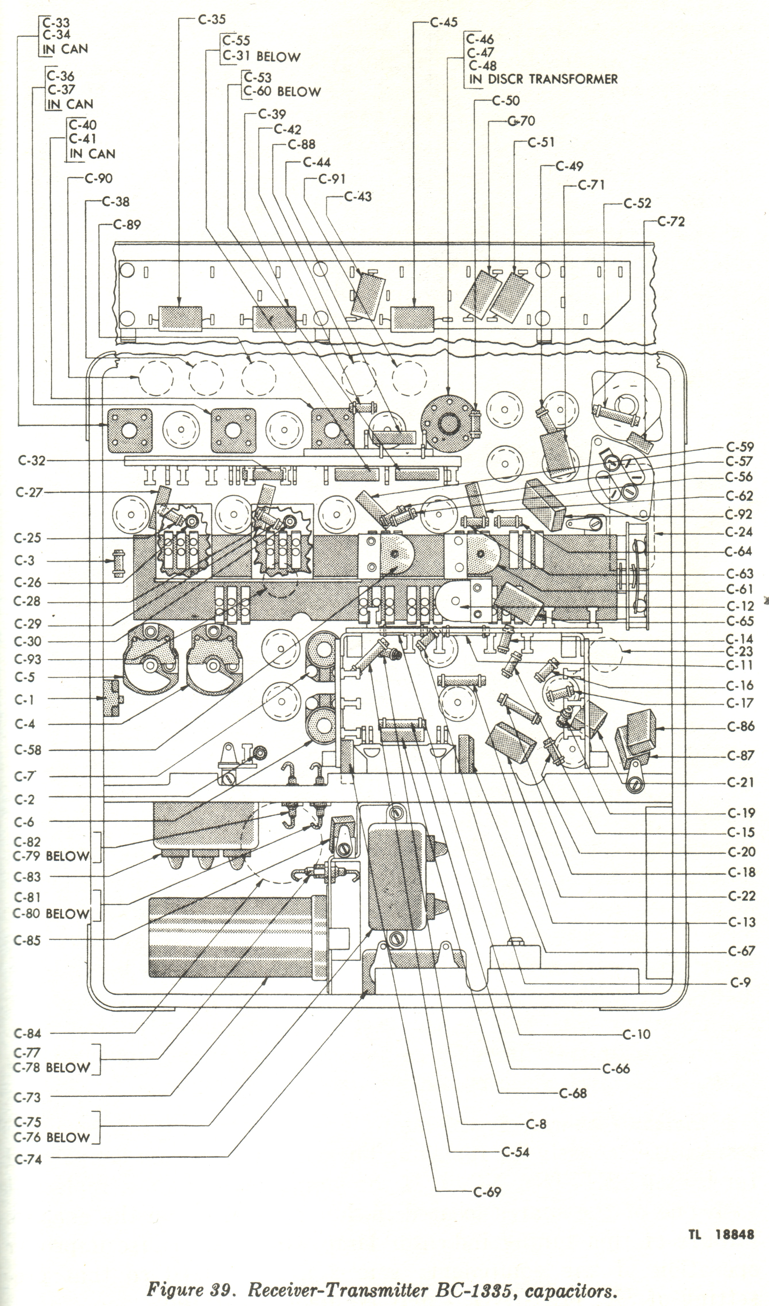 Radio Receiver Transmitter Bc 1335 Scr 619 Marks Tech Journal Circuit Diagram On Ham Am Schematics Thumbnail