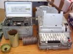 """Soviet M-125-3xx """"Fialka"""" Cipher Machine"""