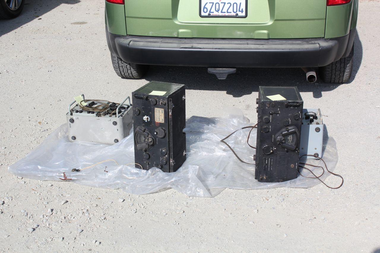 BC-348 Radios in Swap Meet