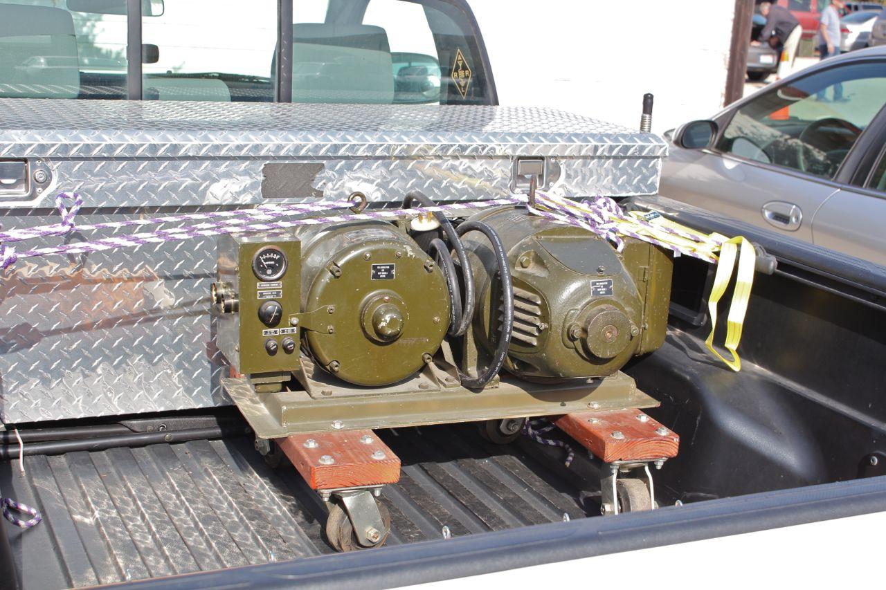 800 Hz Motor-Generator