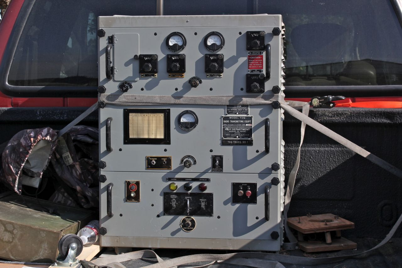 TDQ Transmitter at the Swap Meet