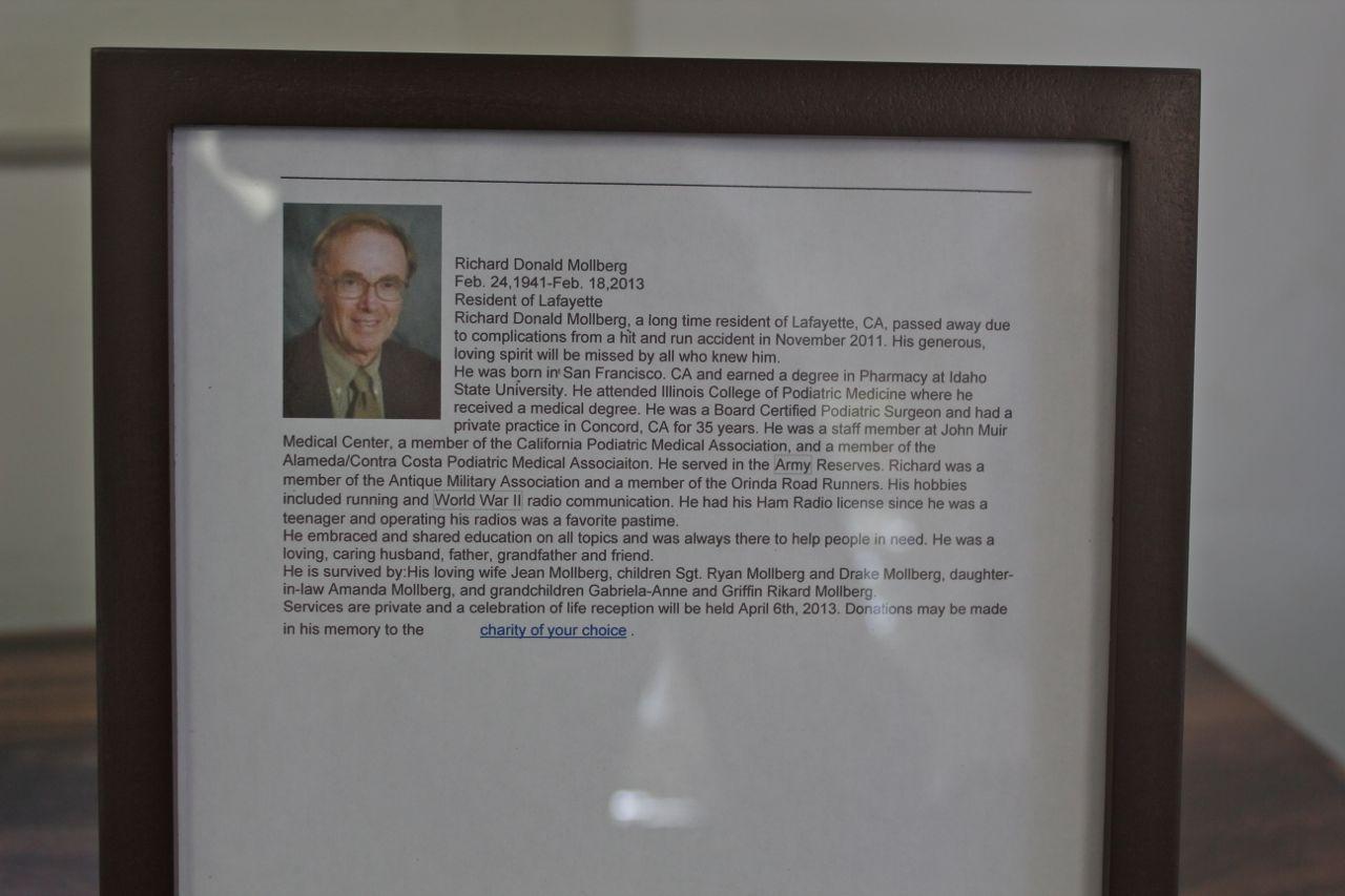 Richard Mollberg Memorial