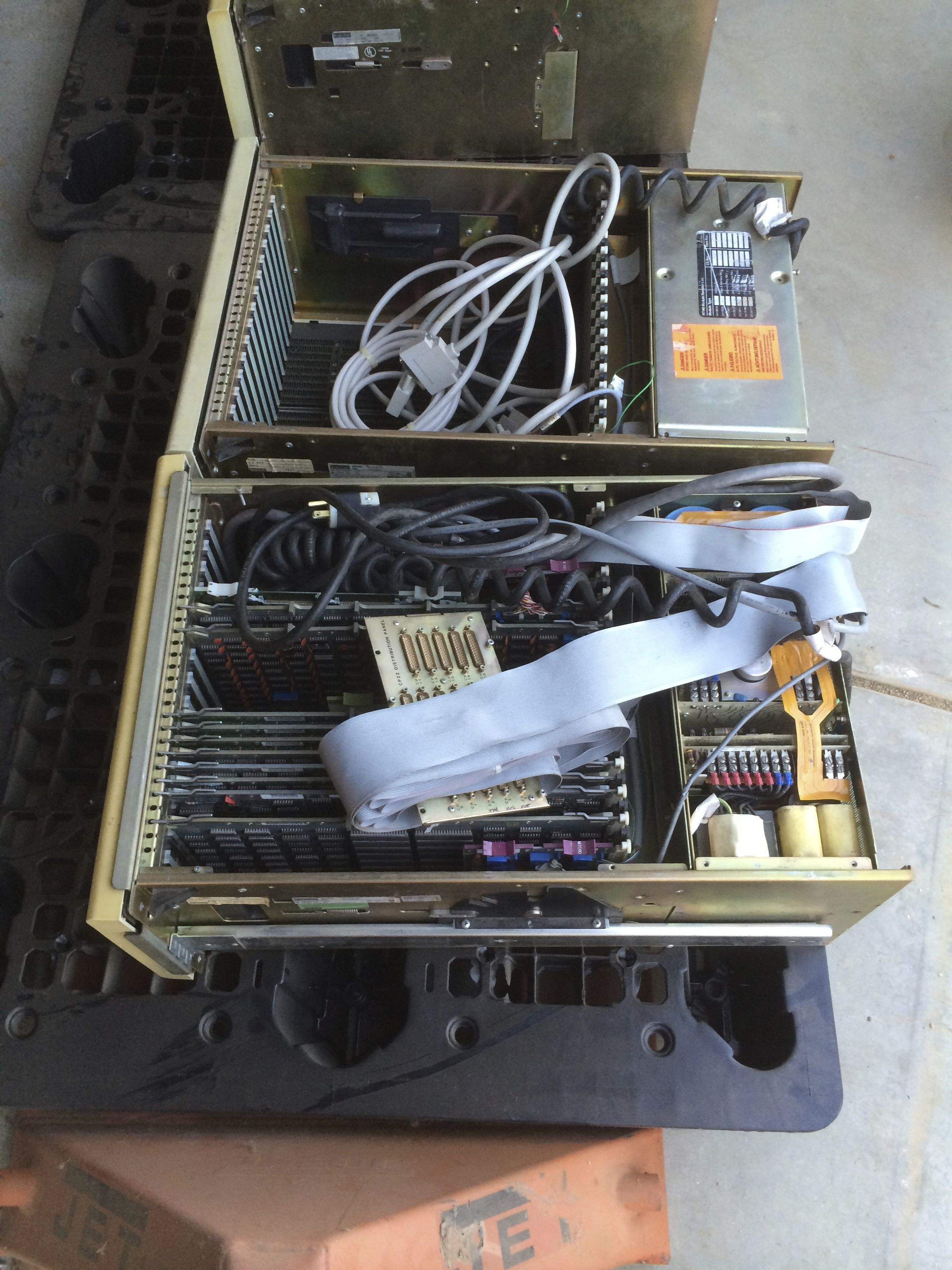 Two of the PDP-11/44 Chassis