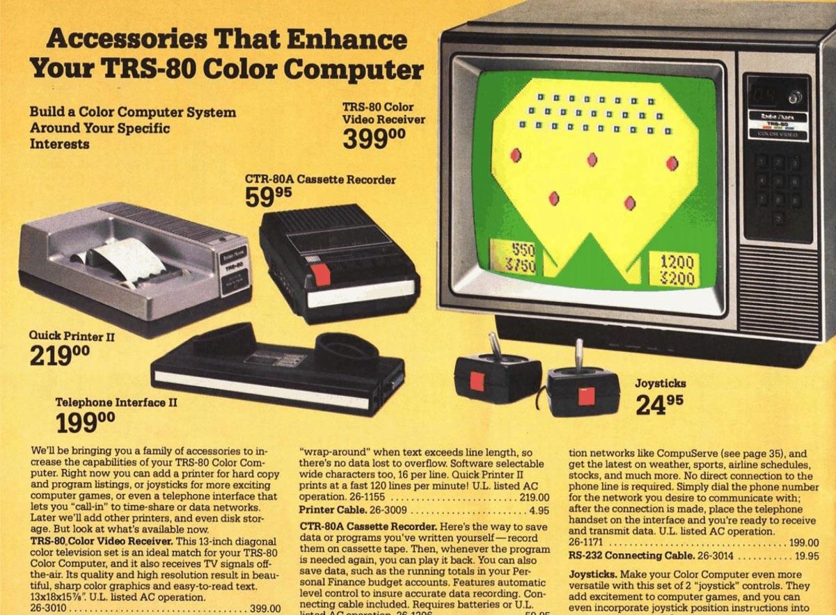 1981 Radio Shack TRS-80 Catalog RSC-4, Page 30