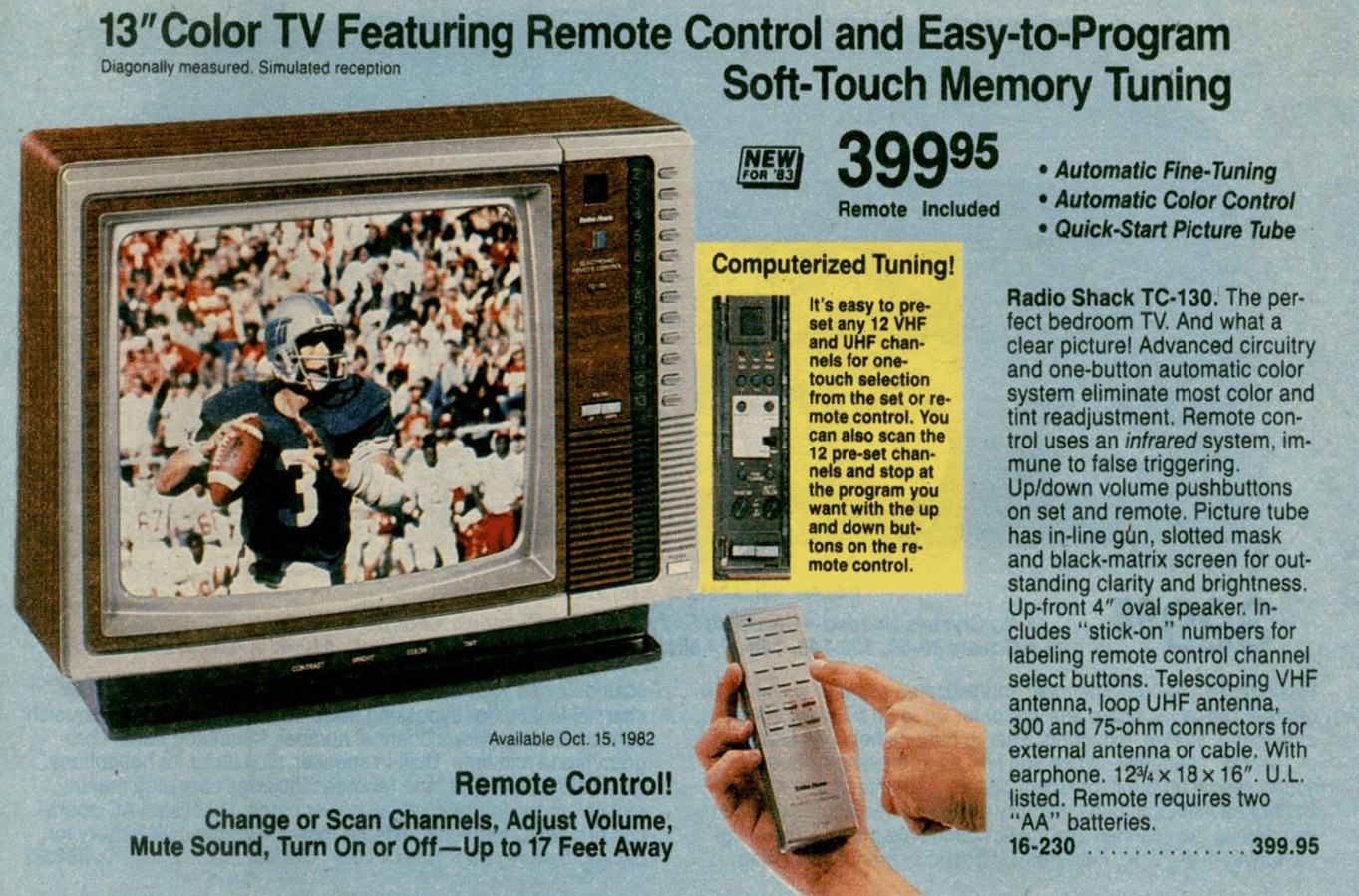 1983 Radio Shack Catalog, Page 154