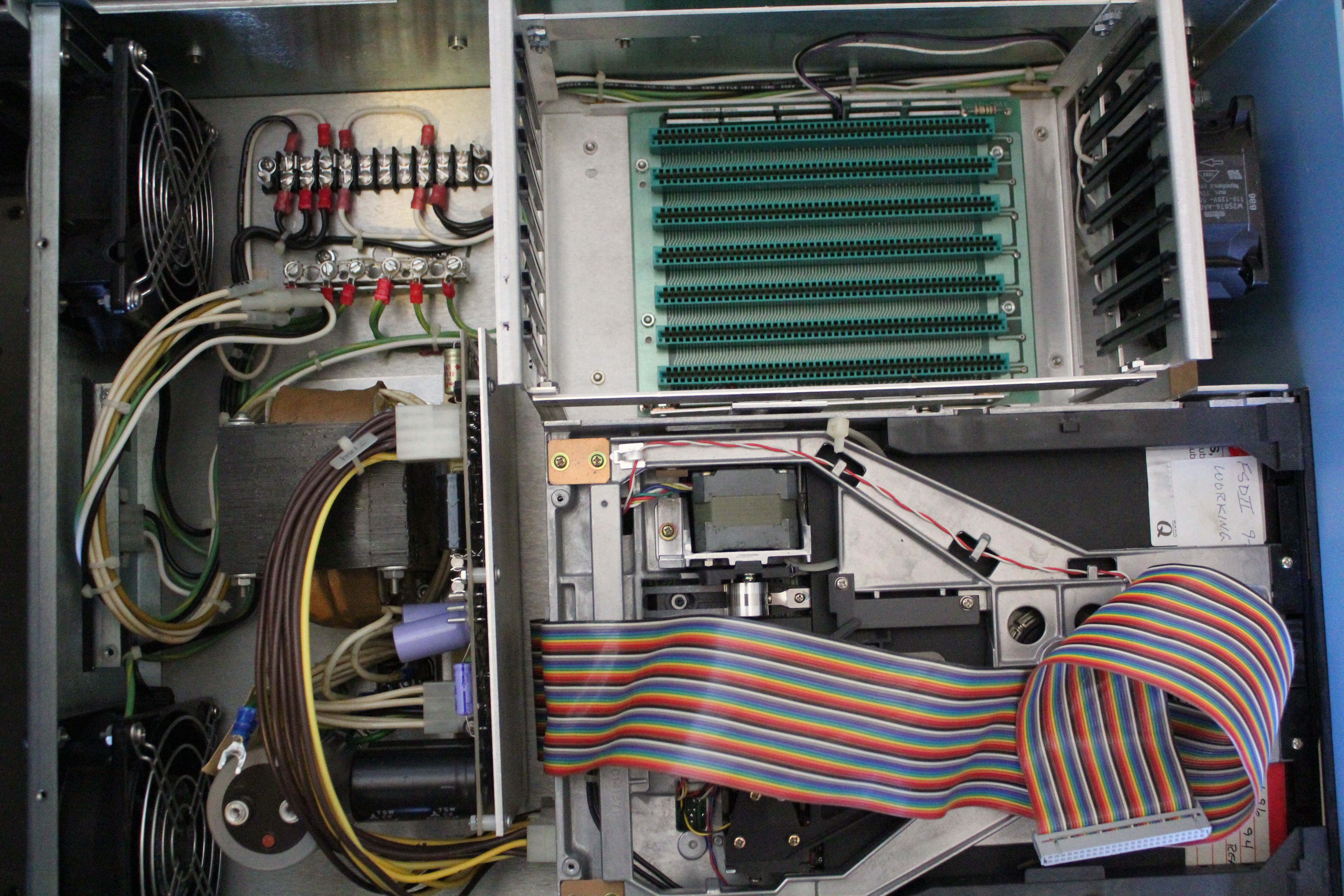 Inside of Chassis